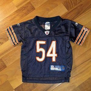 4/$25 Brian Urlacher Bears Jersey 3T Reebok AG